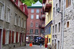 Photo of Montreal Quebec City and Montmorency Falls Day Trip from Montreal A street in Old Quebec