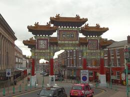 Photo of Liverpool Liverpool City Hop-on Hop-off Tour China Town from the bus  03.11.12