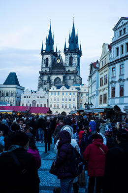 Photo of Prague Prague City Hop-On Hop-Off Tour With Optional Vltava River Cruise and Walking Tours Church from Old Town Square, Prague