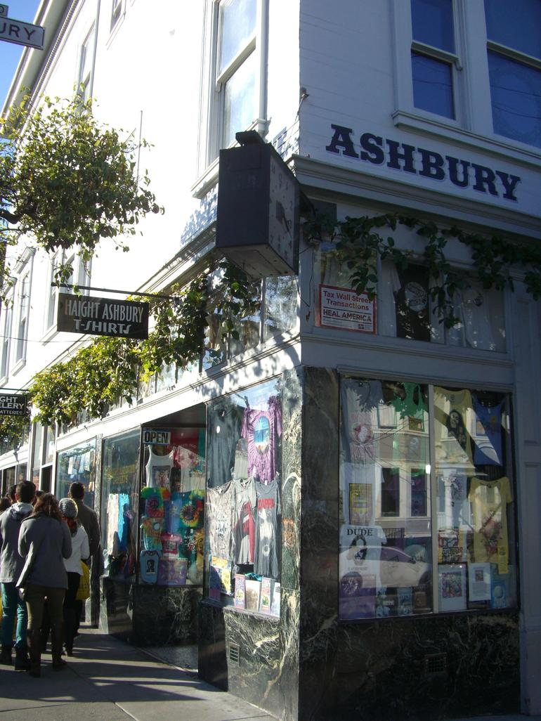 Corner of Haight and Ashbury Streets, San Francisco - San Francisco