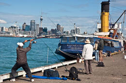 Photo of   Devonport Wharf, Auckland, New Zealand