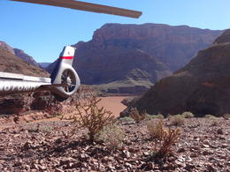 Photo of Las Vegas Grand Canyon Helicopter Tour from Las Vegas Im Grand Canyon gelandet