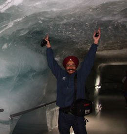 Ice tunnel , Tejinder S - April 2015
