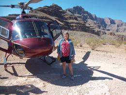 Photo of Las Vegas Grand Canyon All American Helicopter Tour My ride!!!!