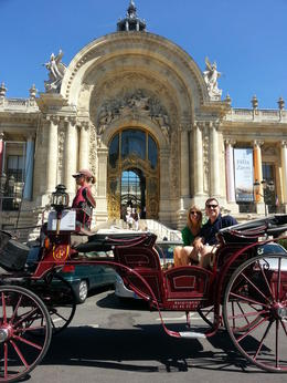 Photo of Paris Romantic Horse and Carriage Ride through Paris Out first tour of Paris