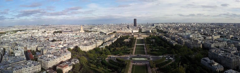 Panorama from Level 1 - Paris
