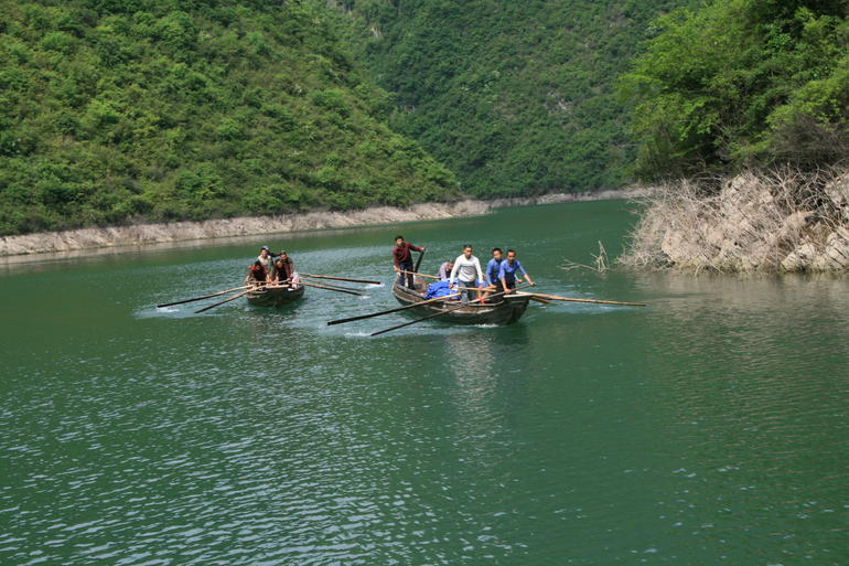yangtze river shore excursion.JPG - Yangtze River