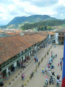 Photo of Bogotá Round-trip Independent Rail Tour to Zipaquirá from Bogotá on Scenic Steam Train Zipaquira street