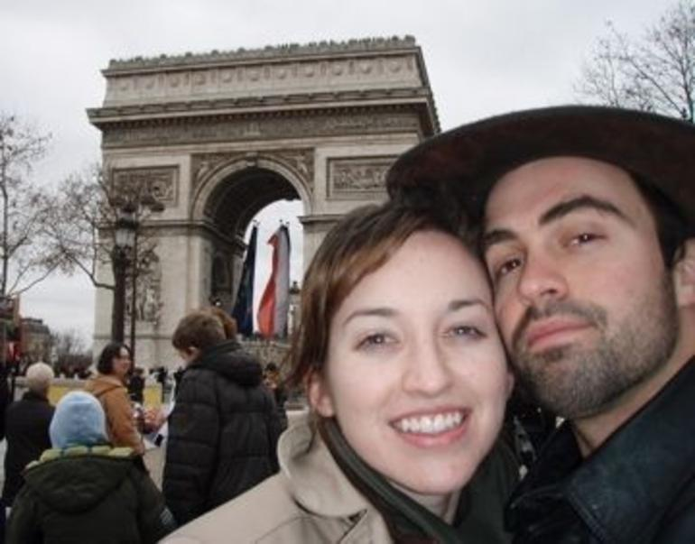 At the Arch de Triomphe! - Paris