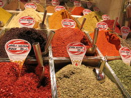 Photo of   At the Egyptian Spice Market