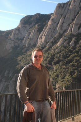 Photo of Barcelona Montserrat and Cava Trail Small Group Day Trip from Barcelona Balcony near parking lot