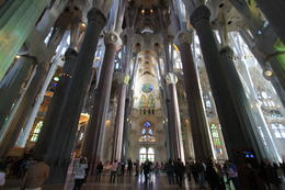 Inside of the La Sagrada de Familia , Jason B - November 2012