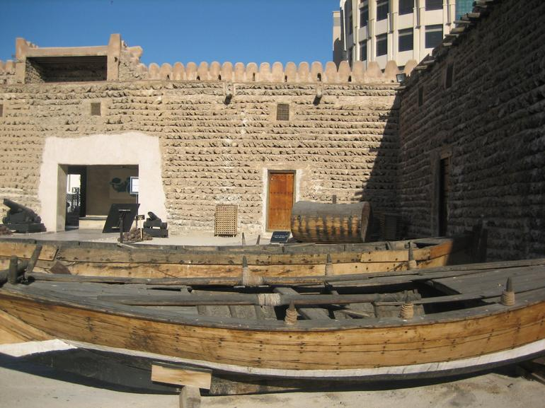 Dubai Museum, housed in old Al-Fahidi Fort - Dubai