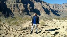 Me at the Canyon floor, jsdphs1 - February 2014