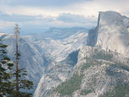 Another shot of Half Dome., Global Nomad - April 2008