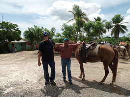 Jose', our leader, with Wayne and his horse, Martinez , dpahl548 - October 2015
