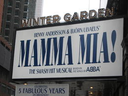 Mamma Mia! on Broadway, Cat - January 2012