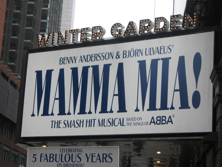 Mamma Mia! on Broadway - New York City