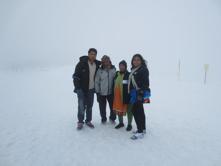 mount titlis memories - Zurich