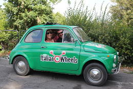 Photo of Florence Self-Drive Vintage Fiat 500 Tour from Florence: Tuscan Hills and Italian Cuisine Our Car
