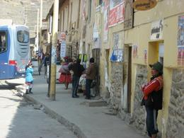 People hanging out in the streets in Ollantaytambo., Bandit - December 2010