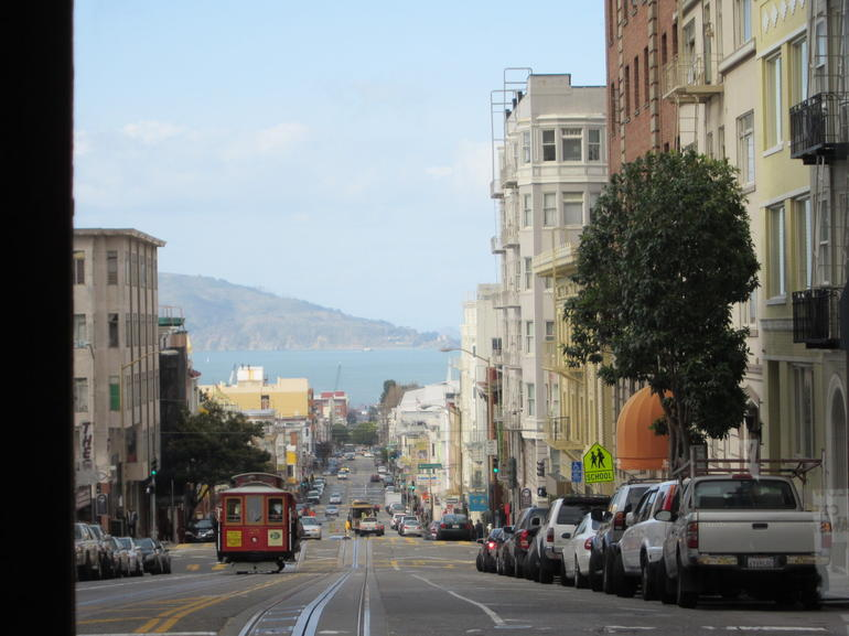 Powell and Hyde St. - San Francisco