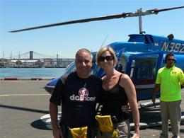 Photo of New York City Manhattan Sky Tour: New York Helicopter Flight Quick pic after our trip