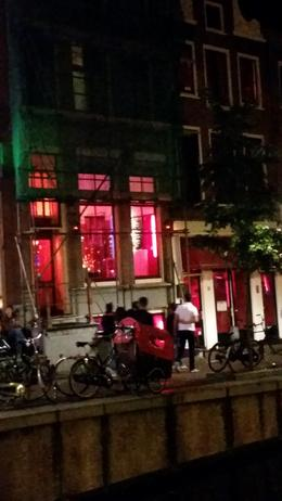 Photo of Amsterdam Amsterdam Red Light District Walking Tour Red light district at night