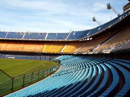 La Bombonera: Stadium of Boca Juniors football team in Buenos Aires - May 2011