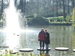 Photo of Amsterdam Keukenhof Gardens and Tulip Fields Tour from Amsterdam Stepping Stone Fountain