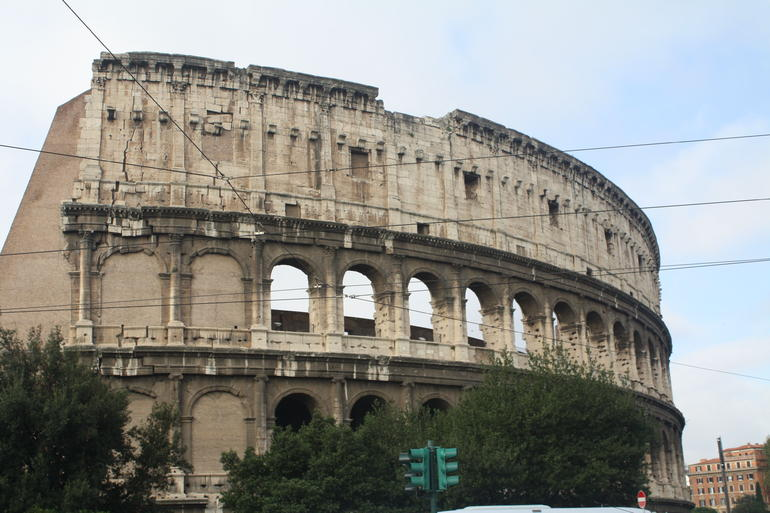The Magnificent Colesseum. - Rome