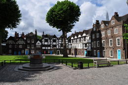 Tudor residences on the grounds at the Tower of London. , Chuck J - July 2014