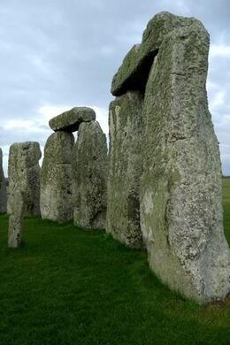 A wide angle focal length setting produces an intimate engagement with massive stones in the outer circle., Brian C - May 2010