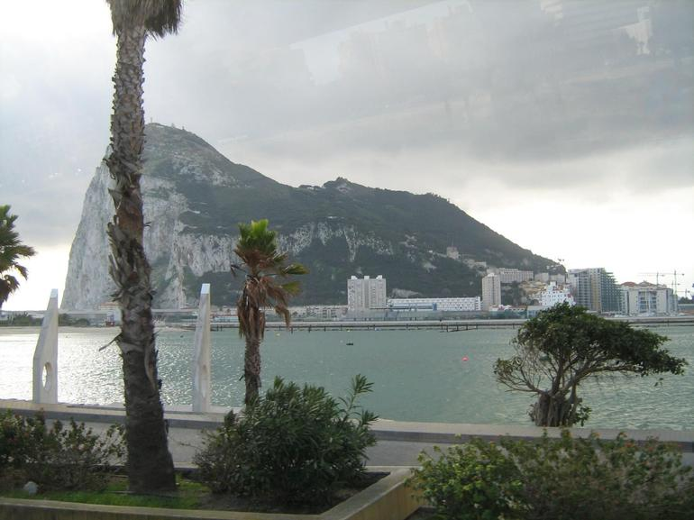 A view of Gibralter - Costa del Sol