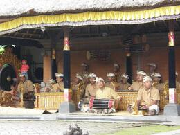 Photo of Bali Bali Kintamani Volcano, Ubud and Barong Dance Full-Day Tour Barong Musicians