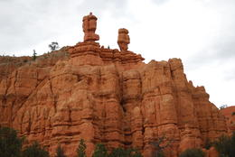 Salt and Pepper Shaker at Bryce Canyon. , Anil K - July 2014