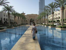 Visiting the Burj Khalifa and Dubai Mall , Nikki H - June 2014