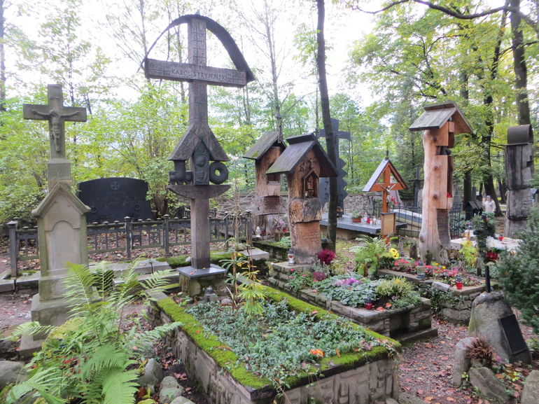Many graves are creative and interesting.