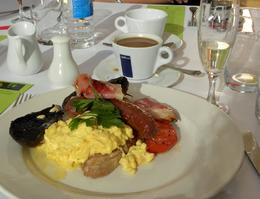 "Yep! I chose the ""Full Aussie Breakfast""! - March 2010"