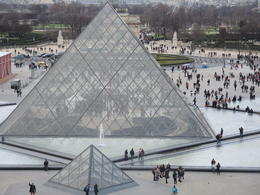 Photo of   Gorgeous Louvre and Pyramid