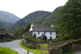 Photo of Lake District Beatrix Potter's Lakeland Tour house used in Miss Potter film
