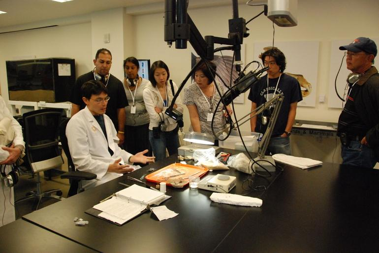 Interacting with a Scientist - San Francisco