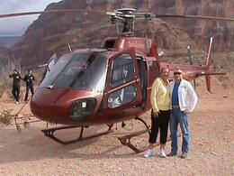 Photo of Las Vegas Grand Canyon All American Helicopter Tour Just after the Champagne lunch