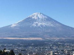 Mt Fuji from a lookout on a beautiful sunny winter's day. , Grahan S - January 2016