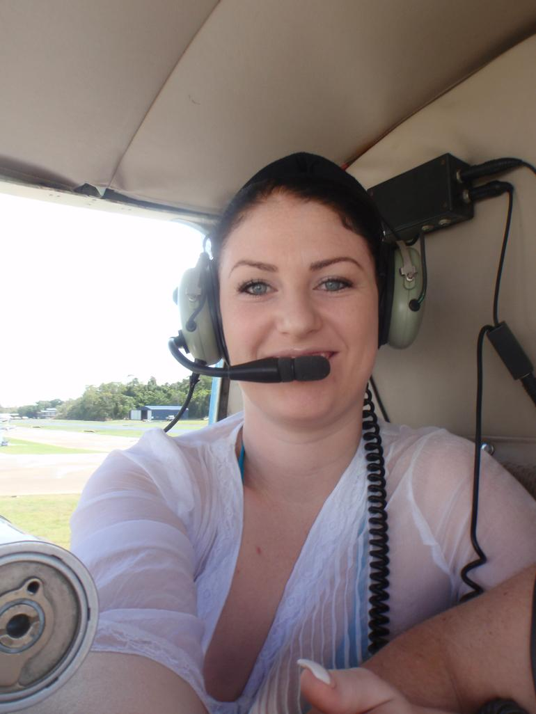My first helicopter ride! -