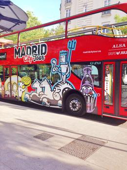 Photo of Madrid Madrid City Hop-on Hop-off Tour The bus