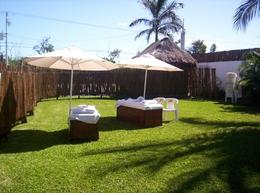 This was the massage area at Playa Uvas. - June 2008