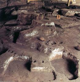 Photo of Xian Full-Day Tour of the Terracotta Warriors and Banpo Neolithic Village from Xi'an The original living remains of the Banpo villige.jpg