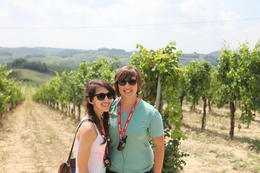Here we are at the vineyard! , Natalia Bougadellis - August 2013