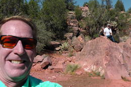 Photo of Sedona & Flagstaff Ancient Ruin Jeep Tour Adventure Mike in action